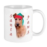 Santa Paws Irish Terrier  Small Mug