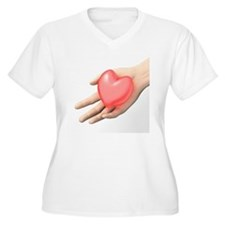 Heart care, conceptual image - T-Shirt