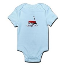 red wagon Chicago 1917 old school tee Infant Bodys
