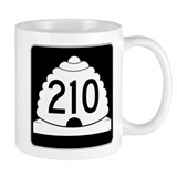 Powder Highway - Utah 210 Alta Snowbird Small Mug