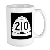 Powder Highway - Utah 210 Alta Snowbird Ceramic Mugs