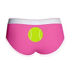 Neon Tennis Ball Women's Boy Brief