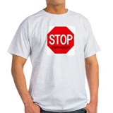 Stop Damarion Ash Grey T-Shirt