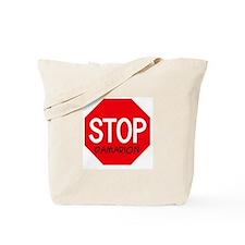 Stop Damarion Tote Bag
