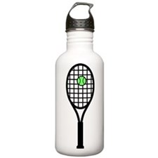 Tennis Racket With Ball Water Bottle