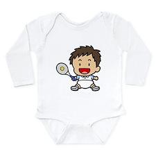 Baby Boy Tennis Player Onesie Romper Suit