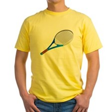 Blue Tennis Racket T