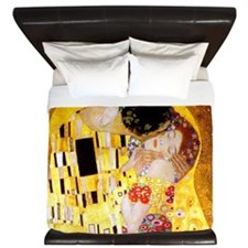 The Kiss by Klimt King Duvet