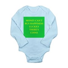coin collector Long Sleeve Infant Bodysuit