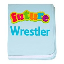 Future Wrestler baby blanket