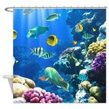 Ocean Life Shower Curtain