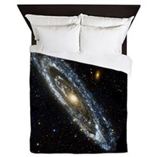 Andromeda Galaxy, UV image - Queen Duvet