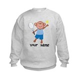 Personalized Tennis Monkey Sweatshirt