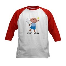 Personalized Tennis Monkey Tee
