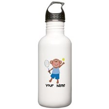 Personalized Tennis Monkey Sports Water Bottle