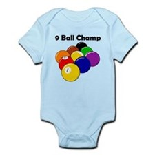 9 Ball Champ Infant Bodysuit
