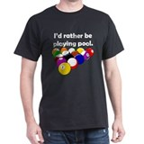 Playing Pool T-Shirt