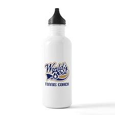 Tennis Coach (Worlds Best) Water Bottle