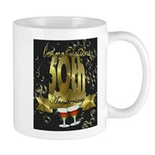 50th anniversary congradulations Mug