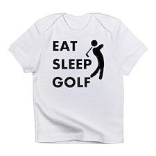 Eat Sleep Golf Infant T-Shirt