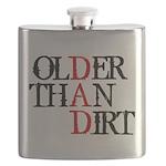 Dad - Older Than Dirt Flask