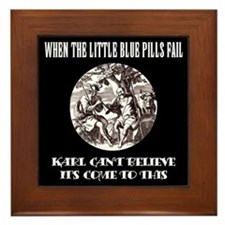 Limp Karl/black Framed Tile