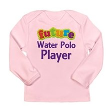 Future Water Polo Player Long Sleeve Infant T-Shir