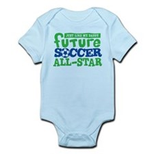 Future Soccer All Star Boy Infant Bodysuit