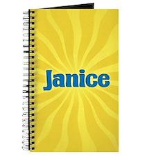 Janice Sunburst Journal