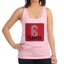 Rugby Flanker Racerback Tank Top