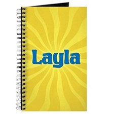 Layla Sunburst Journal