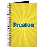 Preston Sunburst Journal
