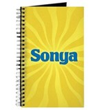 Sonya Sunburst Journal
