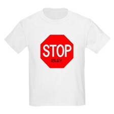 Stop Riley Kids T-Shirt