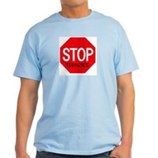 Stop Terrence Ash Grey T-Shirt