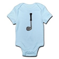 Cartoon Golf Club Infant Bodysuit
