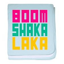 BOOMSHAKALAKA baby blanket