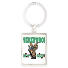 PECKERWOOD GUN CLUB Portrait Keychain