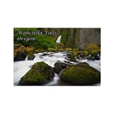 Wahclella Falls Rectangle Magnet