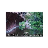 West Fork, Sedona, AZ Rectangle Magnet (10 pack)