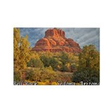 Bell Rock, Sedona, AZ Rectangle Magnet (10 pack)