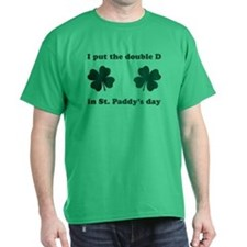 St. Paddy's Double D T-Shirt