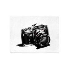 Camera 5'x7'Area Rug