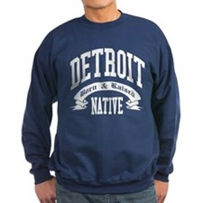 Born in DETROIT Sweatshirt