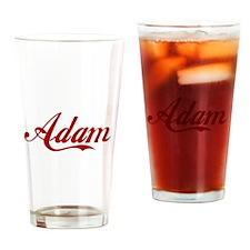 Adam name Drinking Glass