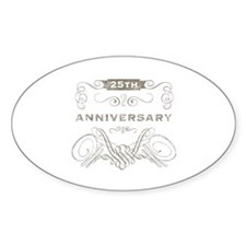 25th Vintage Anniversary Decal