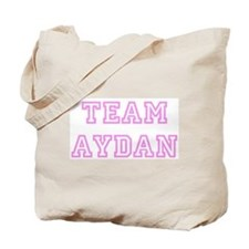 Pink team Aydan Tote Bag