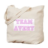 Pink team Avery Tote Bag