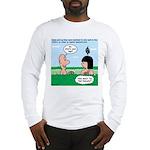Adam's Lame Pick-up Line Long Sleeve T-Shirt