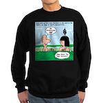 Adam's Lame Pick-up Line Sweatshirt (dark)